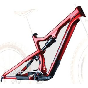SALSA BUCKSAW CARBON TELAIO ORANGE RED - Salsa