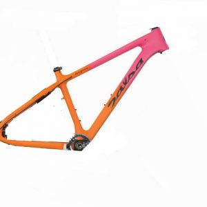 SALSA BEARGREASE CARBON TELAIO PINK/ORANGE - Salsa