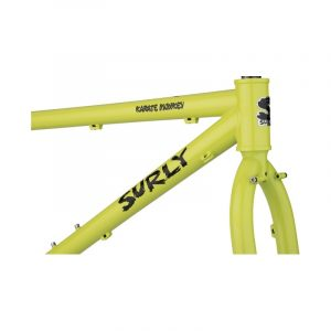 SULRY KARATE MONKEY FRAMESET LEMON LIME SODA - Surly