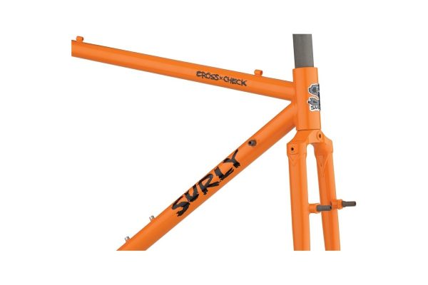 SURLY CROSS CHECK FRAMESET ARANCIO - Surly