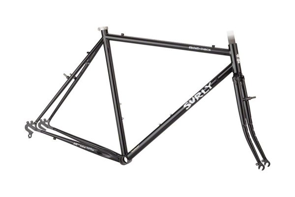 SURLY CROSS CHECK FRAMESET AUBURN-CUBA LIBRE - Surly