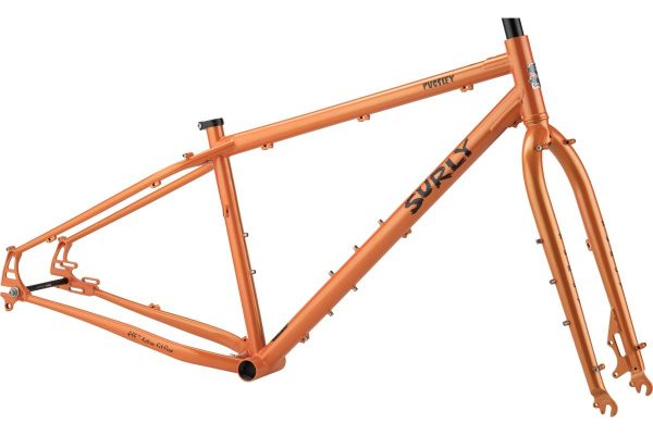 SURLY PUGSLEY 2019 FRAMESET ARANCIO - Surly