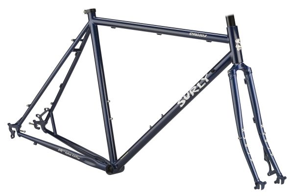 SURLY STRAGGLER FRAMESET BLUEBERRY - Surly