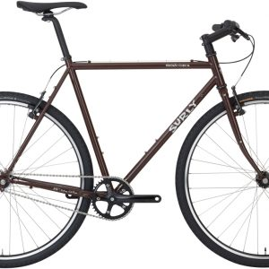 Surly Cross Check bici completa SS Auburn (melanzana) - Surly