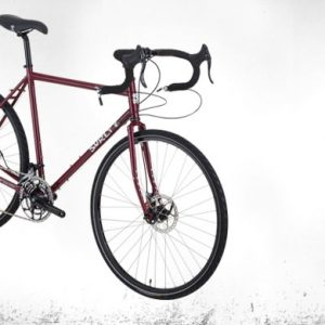 Surly Disc Trucker bici completa 700c Powercoated Maroon - Surly