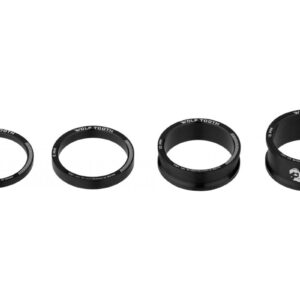 WOLF TOOTH 5 PACK SPACER BLACK - Wolf Tooth