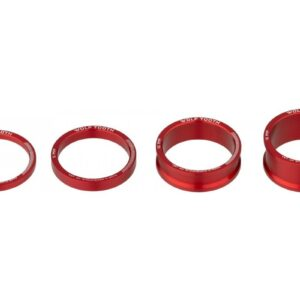 WOLF TOOTH 5 SPACER KIT RED - Wolf Tooth